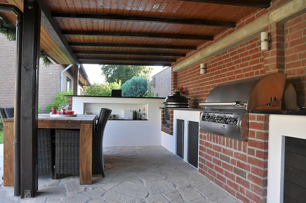 Außenküche Selber Bauen Unterkonstruktion : Terrasse sichtschutz selber bauen haus ideen