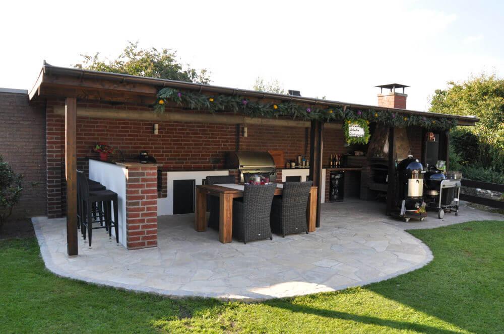 Außenküche Selber Bauen Unterkonstruktion : Outdoor küche aus holz selber bauen outdoor küche gardelino