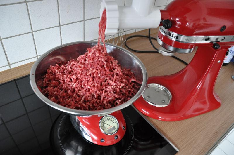 US-Nacken gewolft Griechischer Burger-Burger02-Griechischer Burger mit Feta gefüllt