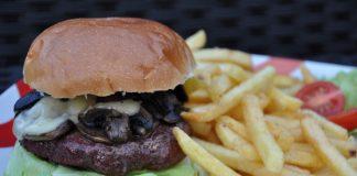 Mushroom & Swiss Burger