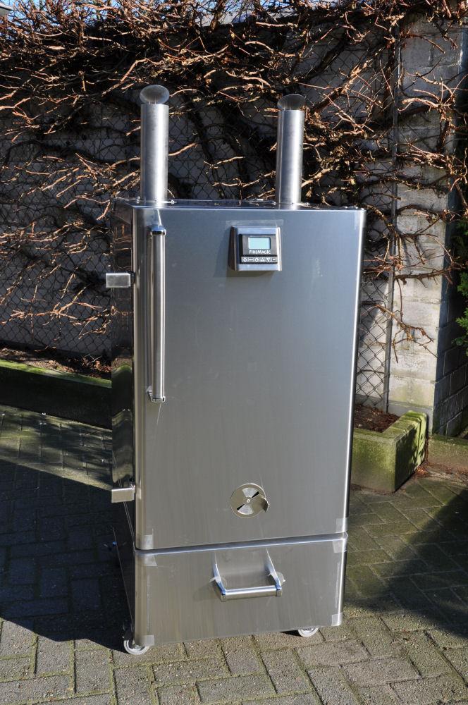 Fire Magic Smoker 24S-SMB Fire Magic Smoker 24S-SMB-FireMagicSmoker02-Neuer Smoker für die BBQ Wiesel Niederrhein: Fire Magic Smoker 24S-SMB