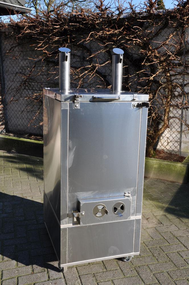 Die Rückansicht Fire Magic Smoker 24S-SMB-FireMagicSmoker03-Neuer Smoker für die BBQ Wiesel Niederrhein: Fire Magic Smoker 24S-SMB