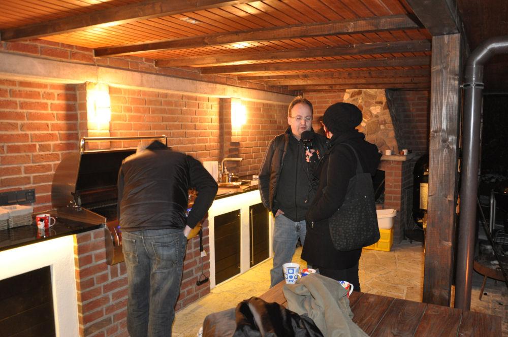 MeMyself im Interview mit Radio KW Radio KW-Wintergrillen03-Wintergrillen bei den BBQ Wieseln Niederrhein mit Radio KW