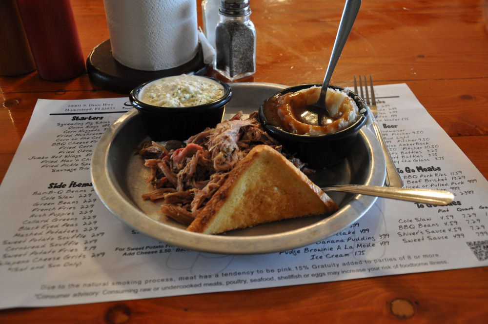 Pulled Pork @Shivers BBQ Homestead BBQ-Locations Florida-BBQ04-On Tour: Die besten BBQ-Locations in Florida