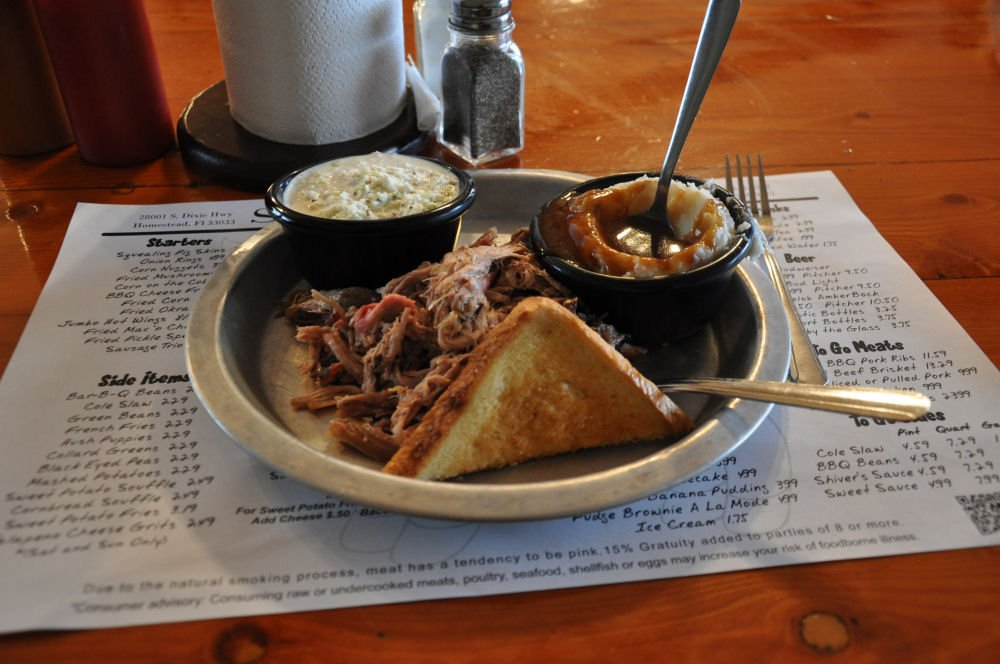 Pulled Pork @Shivers BBQ Homestead bbq-locations florida-BBQ04-On Tour: Die besten BBQ-Locations in Florida bbq-locations florida-BBQ04-On Tour: Die besten BBQ-Locations in Florida