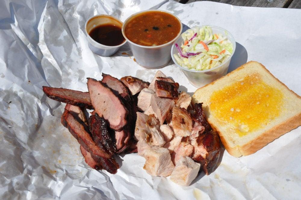 Beef Brisket & sliced Pork @Smokin' D's BBQ St.Augustine BBQ-Locations Florida-BBQ08-On Tour: Die besten BBQ-Locations in Florida