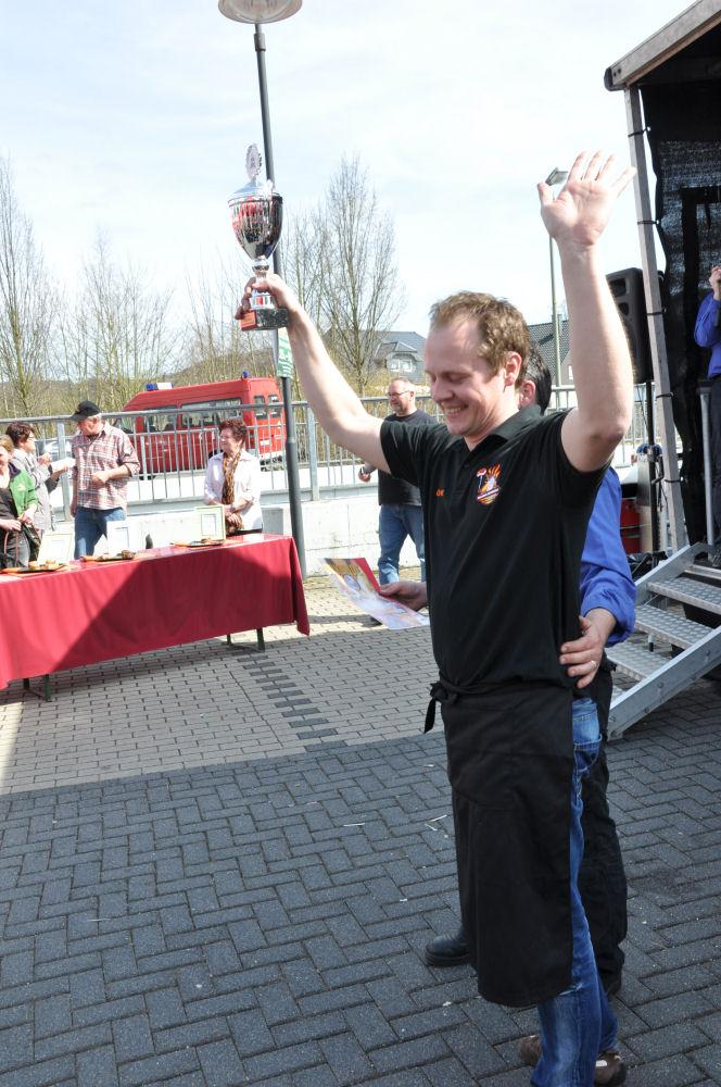 overather grillmeisterschaft-OV18-BBQ Wiesel werden Vizemeister bei der 1.Overather Grillmeisterschaft