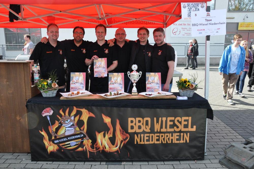 overather grillmeisterschaft-OV19-BBQ Wiesel werden Vizemeister bei der 1.Overather Grillmeisterschaft
