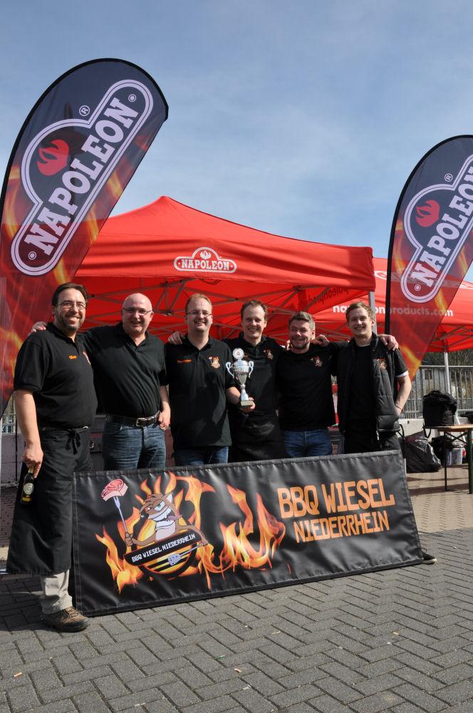 overather grillmeisterschaft-OV24-BBQ Wiesel werden Vizemeister bei der 1.Overather Grillmeisterschaft