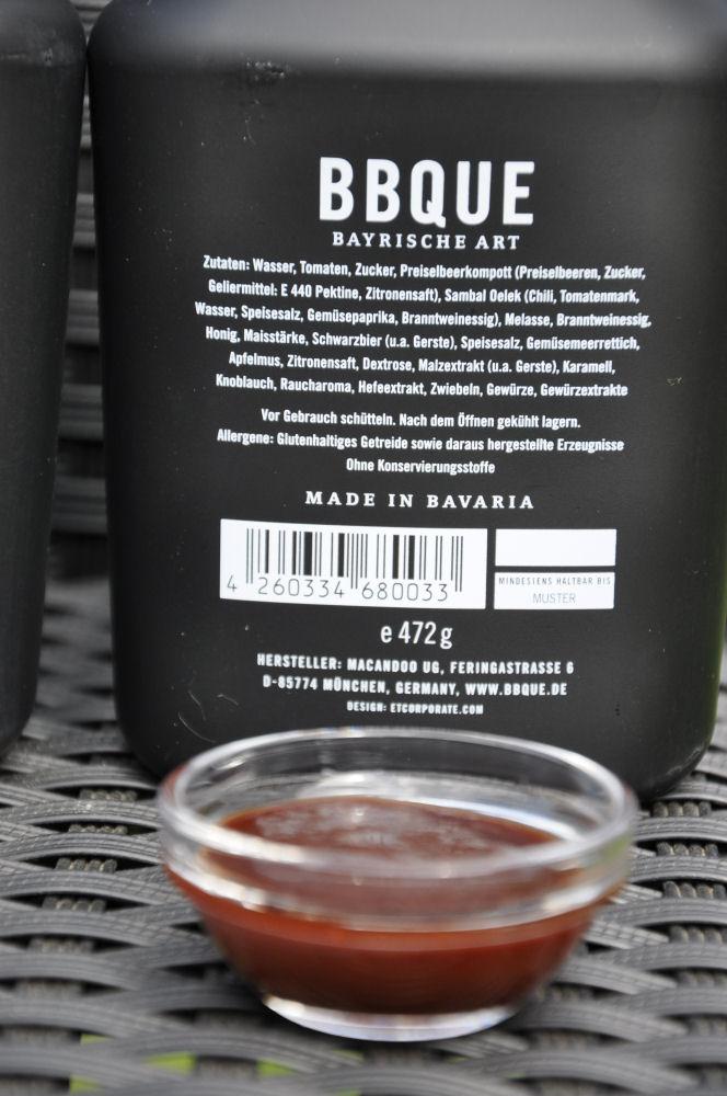 """BBQUE Bayrische BBQ-Sauce """"Chili & Kren"""" BBQUE-BayrischeBBQUESauce06-Alle 4 Sorten BBQUE Bayrische BBQ Sauce im Test"""
