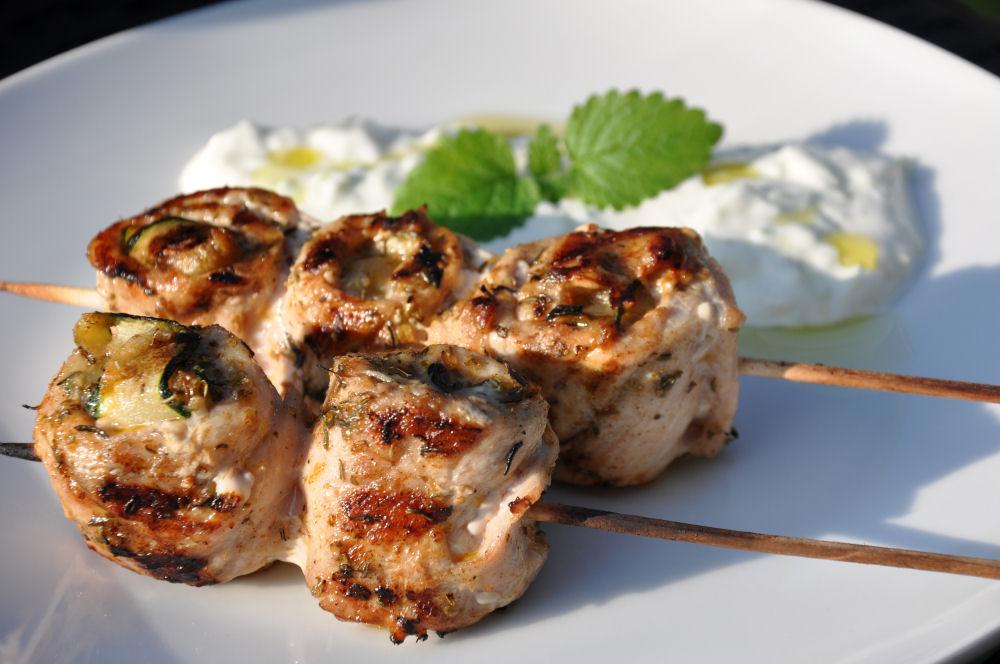 Griechische Lollies griechische lollies-GriechischeLollies09-Griechische Lollies mit Feta-Füllung und Tzatziki