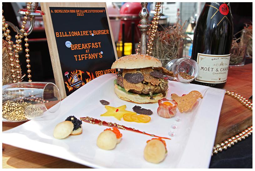 Billionaire's Burger der BBQ Wiesel Bergisch BBQ-wiesel odenthal 106-Erfolgreiche Teilnahme bei Bergisch BBQ 2013: 4 Pokale für die BBQ Wiesel