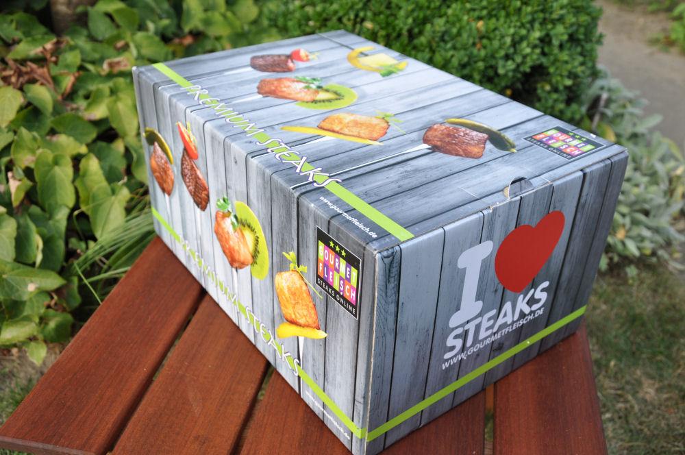 Gourmetfleisch Versandkarton Wagyu Entrecôte-WagyuEntrecote01-Gourmetfleisch Wagyu Entrecôte mit Grillgemüse