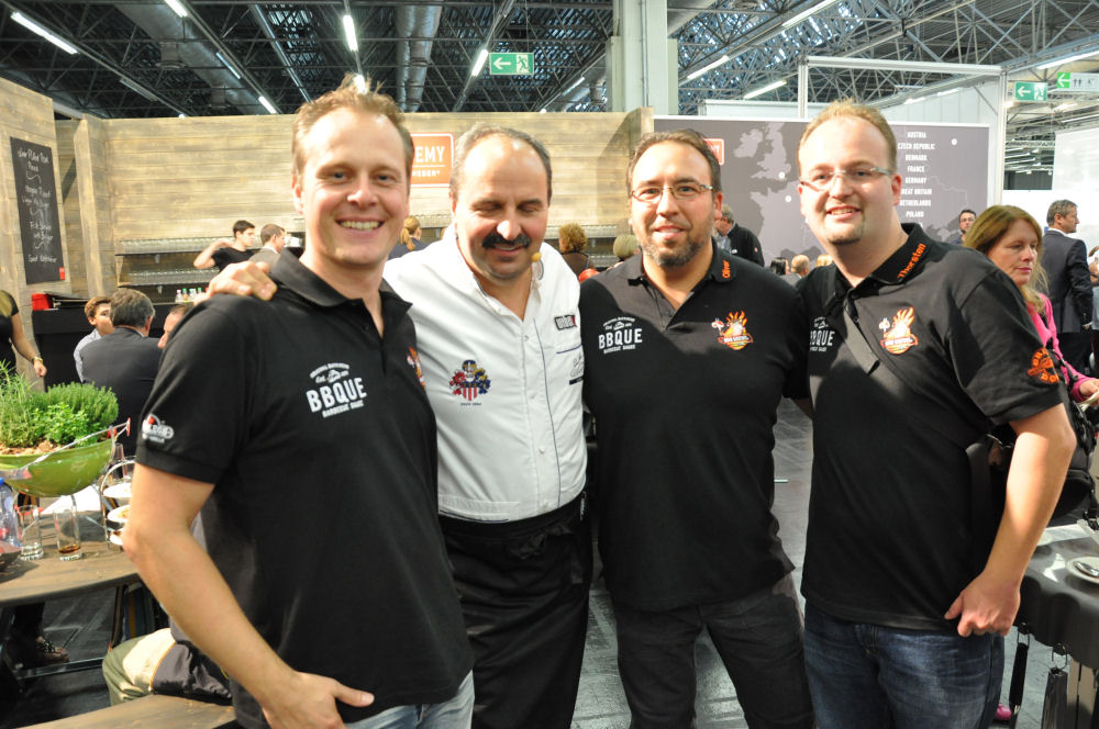 Johan Lafer und die BBQ Wiesel SPOGA 2013-SPOGA11-SPOGA 2013 in Köln und der Dutch Troy