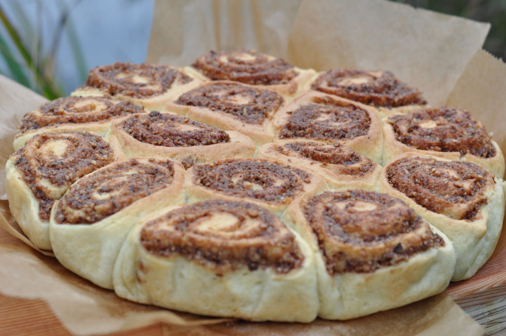 Cinnamon Rolls Zimtschnecken-CinnamonRolls-Zimtschnecken aus dem Dutch Oven – Cinnamon Rolls