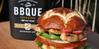 Weißwurst Burger