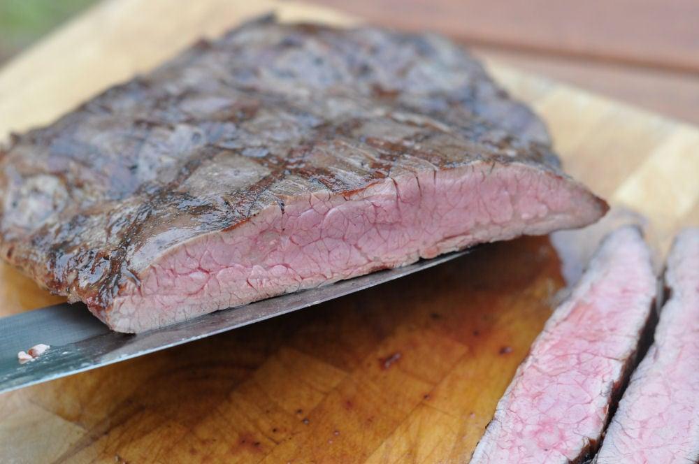 Flank Steak flank steak-Flanksteak05-Flank Steak grillen – so gelingt es perfekte