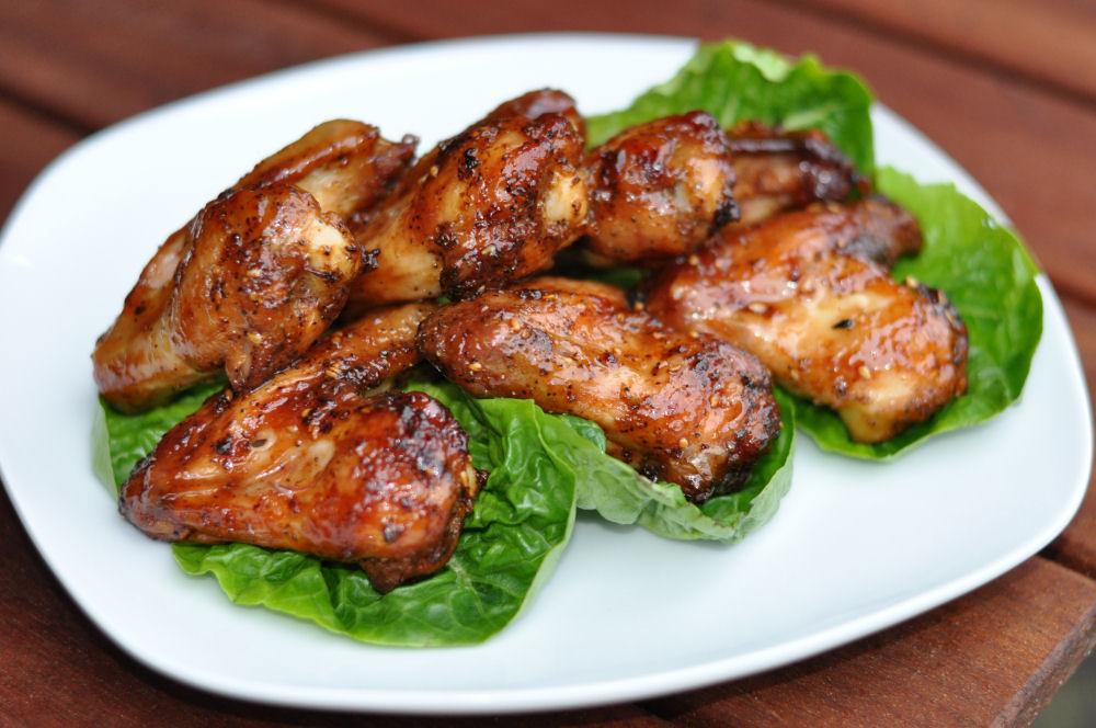 Chicken Wings Gegrillte Hähnchenflügel-GegrillteH  hnchenfluegel03-Gegrillte Hähnchenflügel – PigWing Chicken Wings