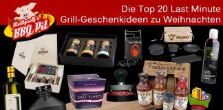 Grill-Geschenkideen
