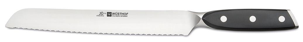 Wüsthof Messer Xline Brotmesser 4755 mit 23cm Klinge mit Präzisionsdoppelwelle Wüsthof Messer-WuesthofXlineBrotmesser4755-Produktvorstellung Wüsthof Messer Wüsthof Messer-WuesthofXlineBrotmesser4755-Produktvorstellung Wüsthof Messer