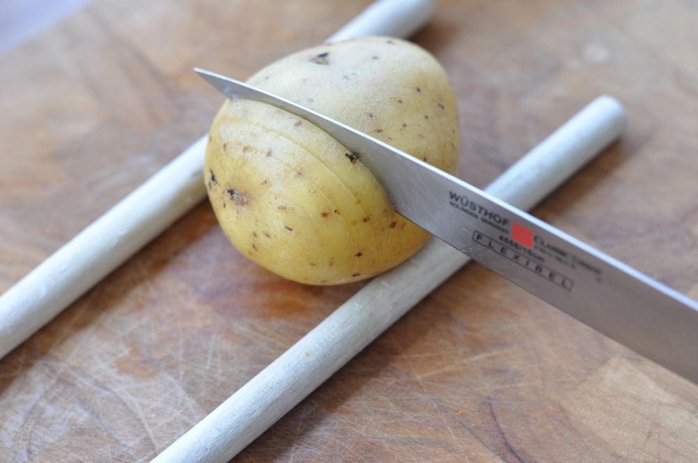 Hasselback Potatoes fächerkartoffeln-BaconCheeseFaecherkartoffeln01-Fächerkartoffeln mit Bacon & Käse – Hasselback Potatoes