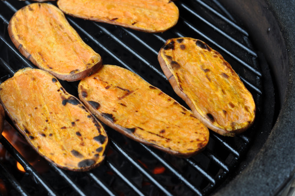 Sweet Potatoes Gegrillte Süßkartoffeln-GegrillteSuesskartoffeln03-Gegrillte Süßkartoffeln mit Olivenöl-Limetten-Marinade