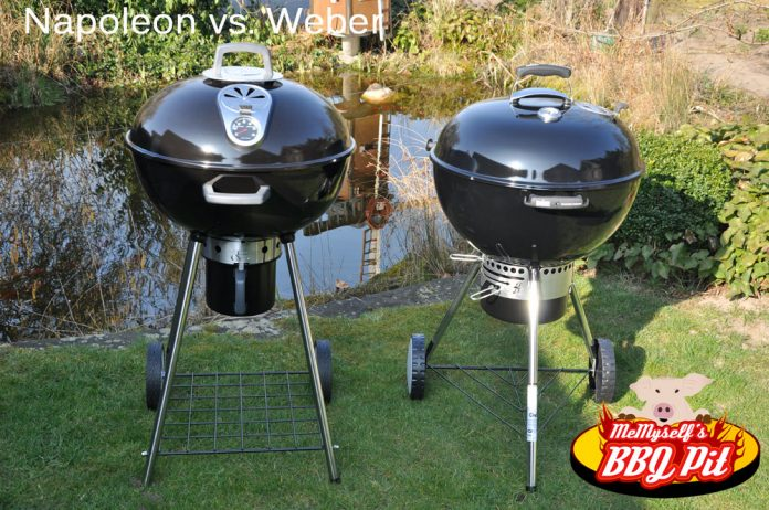 Weber Holzkohlegrill Master Touch Gbs 57 Cm : Kugelgrill kaufen? napoleon nk22ck vs. weber mastertouch gbs 57cm