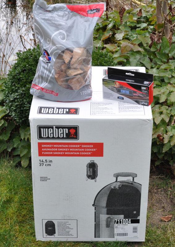 Weber Gewinnspiel Weber Gewinnspiel-WeberGewinnspielWSM-Gewinnspiel März 2014: Weber Smokey Mountain 37 + Zubehör im Wert von 359 Euro zu gewinnen