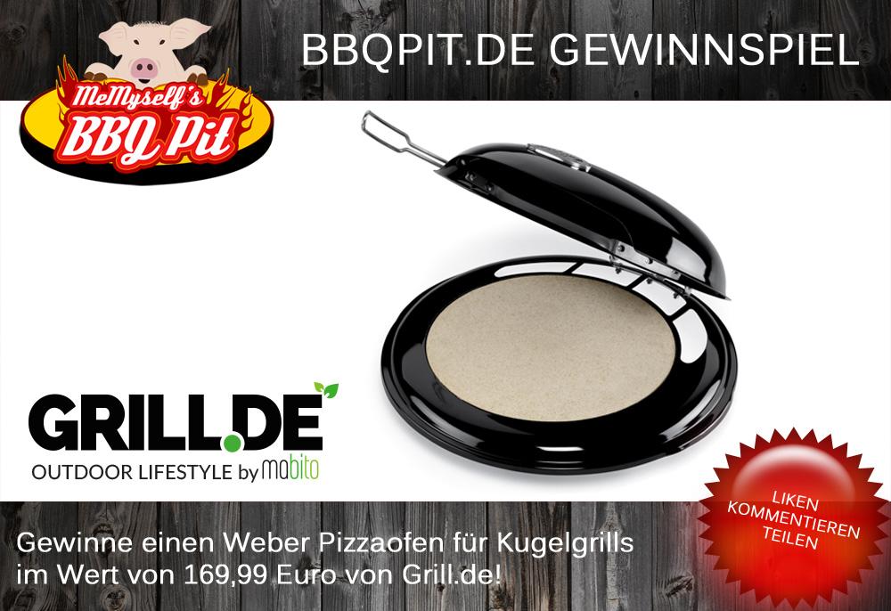 Weber Pizzaofen Gewinnspiel Weber Pizzaofen-PizzaofenGewinnspiel-Gewinnspiel Mai 2014: Weber Pizzaofen für Kugelgrills im Wert von 169 Euro zu gewinnen