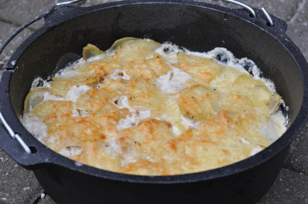 Kartoffelgratin Dutch-Oven dutch oven-Kartoffelgratin-Dutch Oven Guide – Tipps, FAQ, Einbrennen und Kaufberatung