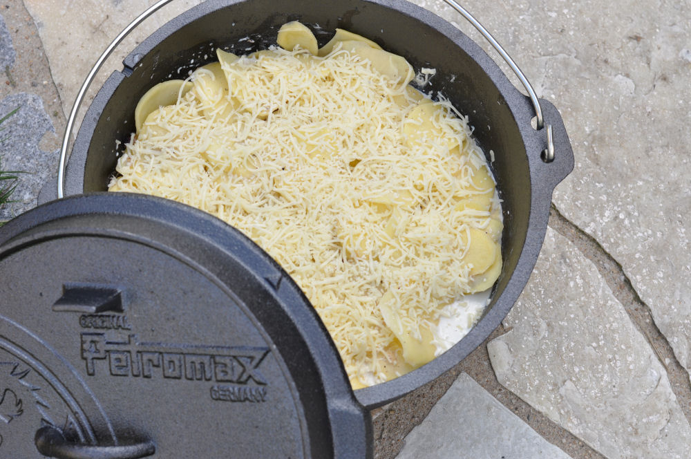 Kartoffel-Gratin aus dem Dutch-Oven kartoffelgratin-Kartoffelgratin02-Kartoffelgratin aus dem Dutch Oven
