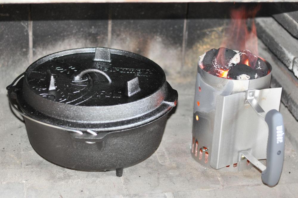 Petromax Feuertopf FT6 kartoffelgratin-Kartoffelgratin03-Kartoffelgratin aus dem Dutch Oven