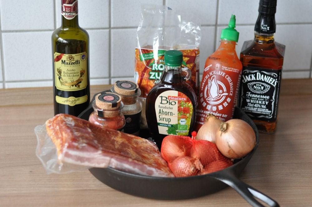 Bacon Jam bacon jam-BaconJam01-Bacon Jam / Speck-Marmelade mit Whisky