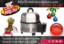Cobb Gas-Grill gewinnen