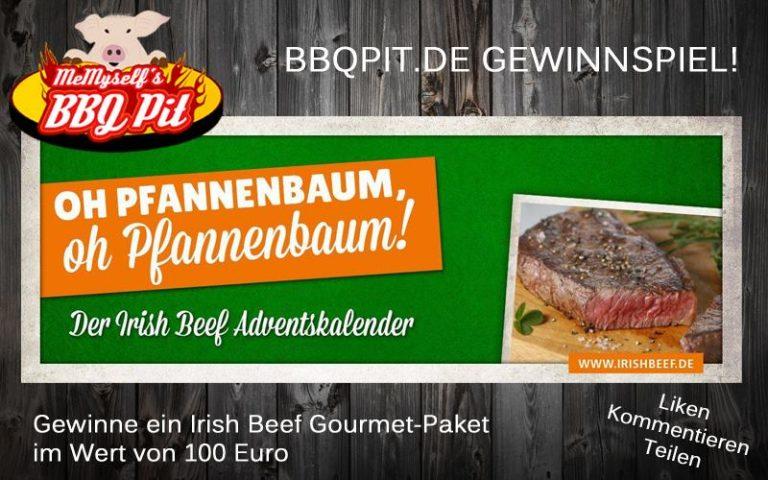Irish Beef Adventskalender und Gewinnspiel