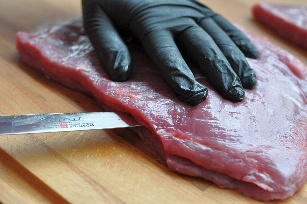 flank steak pinwheels-FlanksteakPinwheels01-Flank Steak Pinwheels mit Ziegenkäse, Walnüßen und Honig