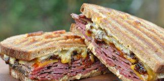 Pastrami Bacon Jam Sandwich