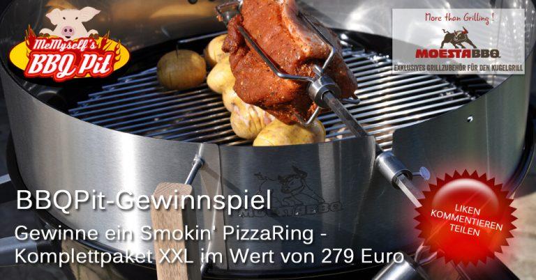 Gewinne ein Moesta BBQ Smokin' PizzaRing – Komplettpaket XXL im Wert von 279€!