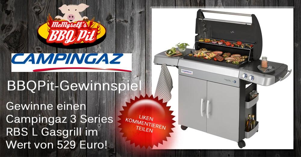 Pulled Pork Gasgrill Gasverbrauch : Gewinne einen campingaz 3 series rbs l gasgrill bbqpit.de