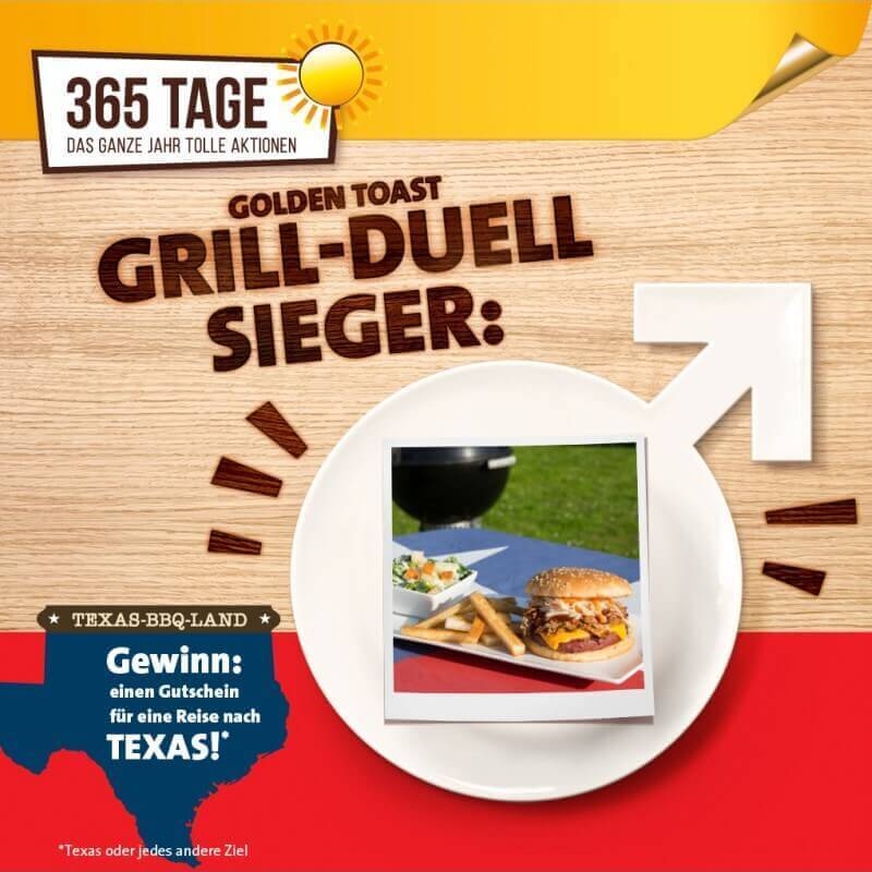 GrillDuellGewinner GOLDEN TOAST Grill-Duell-GrillDuellGewinner-GOLDEN TOAST Grill-Duell – Die Gewinner stehen fest!