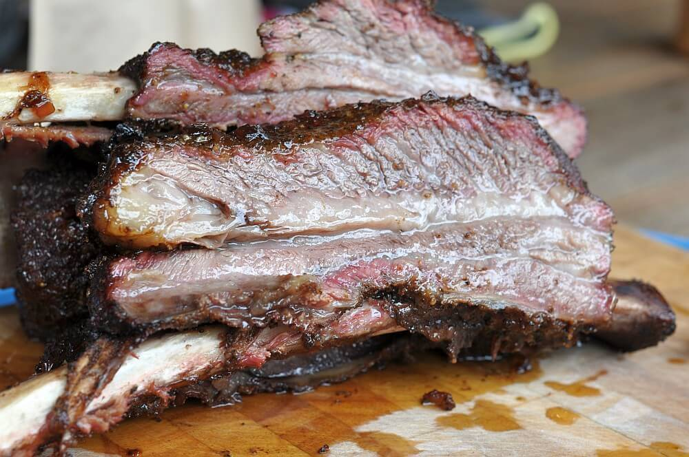 Rinder Spareribs Gasgrill : Us beef short ribs querrippe vom rind bbqpit.de
