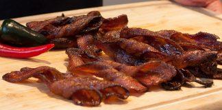 Cinnamon Sugar Bacon Twists
