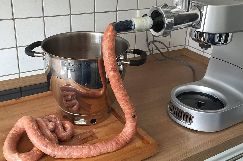 Griechische Bratwurst griechische bratwurst-GriechischeBratwurst05-Griechische Bratwurst selbst gemacht
