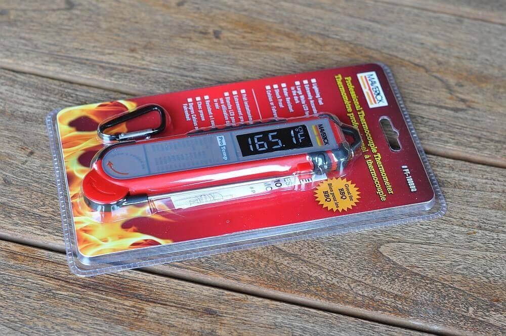 Maverick PT-100 maverick pt-100-MaverickPT10001-Maverick PT-100 BBQ – das bessere Thermapen Einstichthermometer?