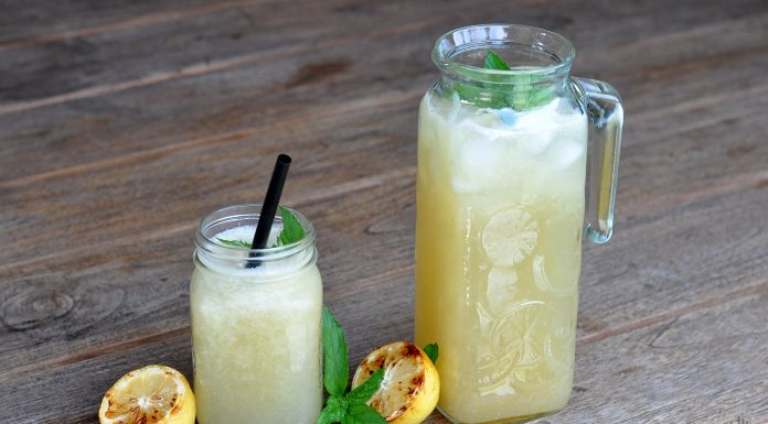 Limonade vom Grill