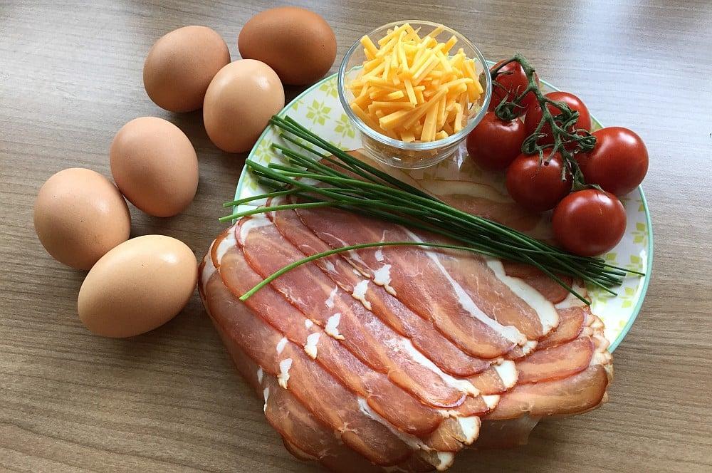 Frühstück vom Grill bacon & egg muffins-Fruehstuecksmuffins02-Bacon & Egg Muffins – Frühstücksmuffins