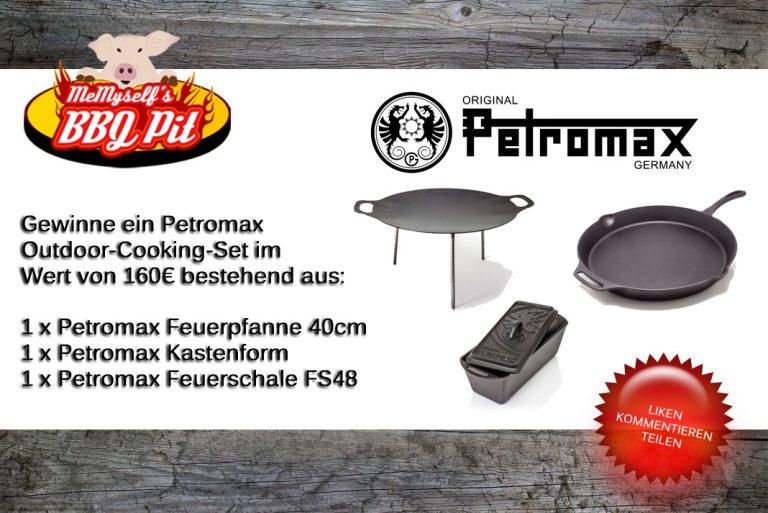 Petromax-Gewinnspiel: Gewinne ein Outdoorcooking-Set im Wert von 160€