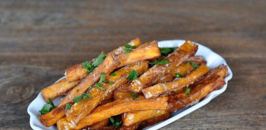 Knusprige Süßkartoffel-Pommes [object object]-KnusprigeSuesskartofelpommes 533x261-BBQPit.de das Grill- und BBQ-Magazin – Grillblog & Grillrezepte –