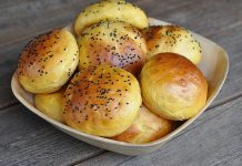 Süßkartoffel Burger Buns