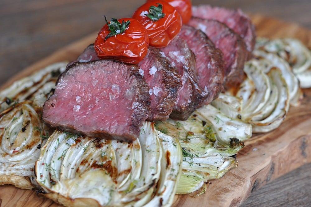 Tri Tip Bürgermeisterstück tri tip-TriTipBuergermeisterstueck07-Tri Tip Steak – Bürgermeisterstück mit gegrilltem Fenchel